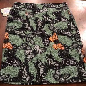 XL LuLaRoe Cassie Butterfly Pencil Skirt. NEW!
